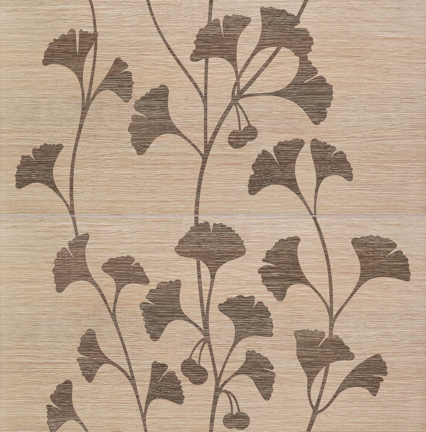 Tubadzin BILOBA Beige 2 dekor 60,8×61,8
