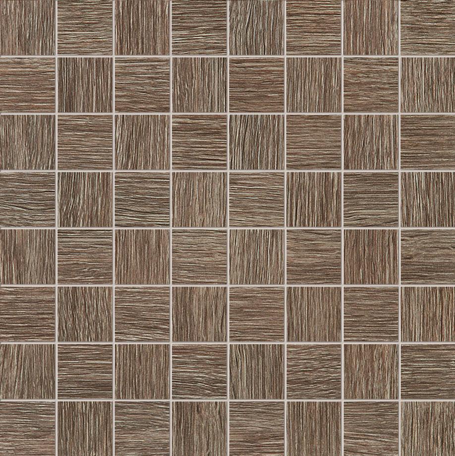 Tubadzin BILOBA Brown mozaik 32,4×32,4