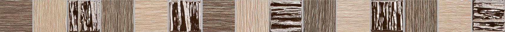 Tubadzin BILOBA Brown szegő 60,8×3,9