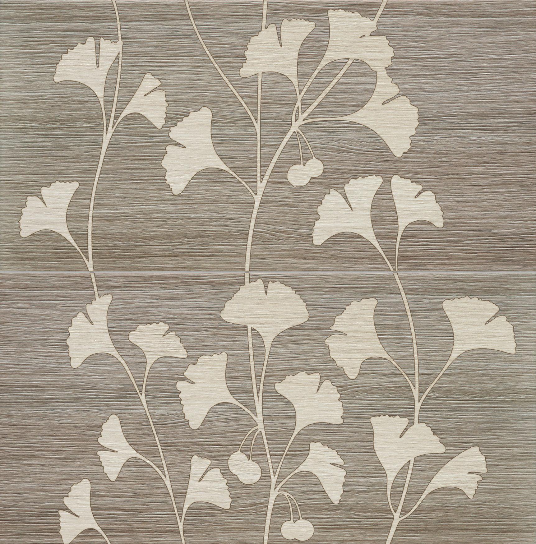 Tubadzin BILOBA Grey 2 dekor 60,8×61,8