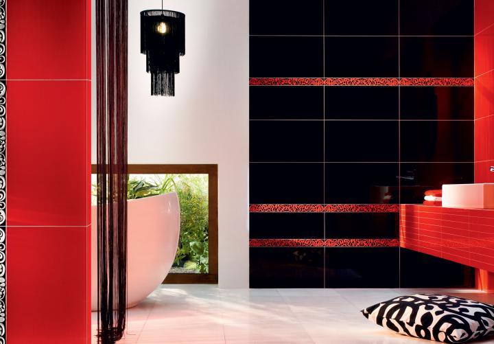 Tubadzin BLACK&RED