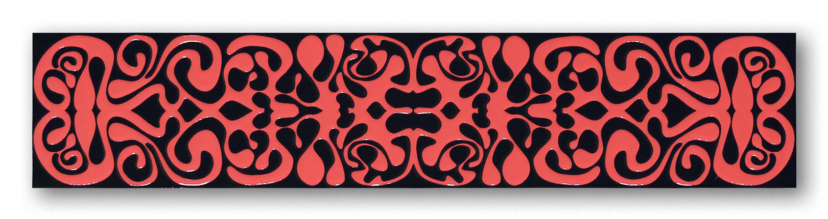 Tubadzin BLACK&RED 2A szegő 59,3×12