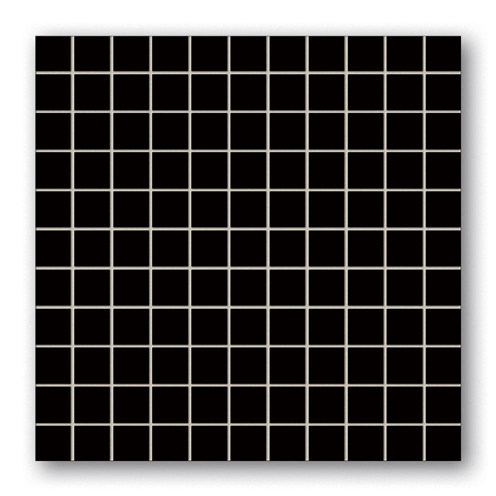 Tubadzin BLACK&RED Black mozaik 30×30