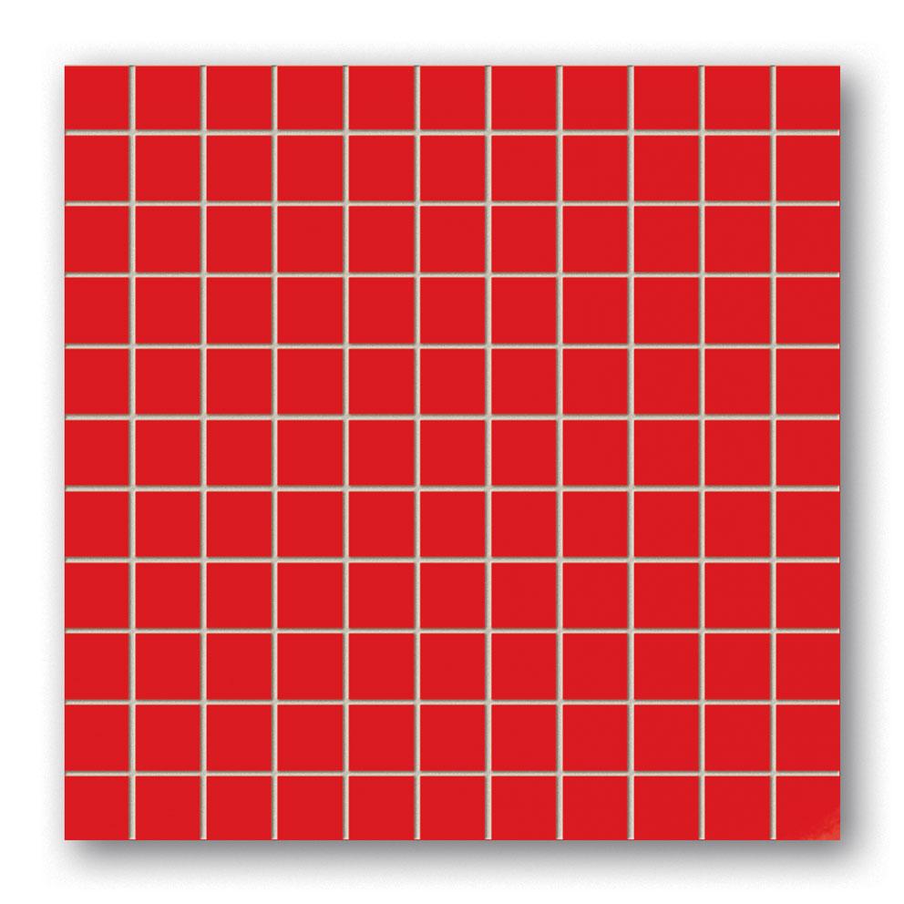 Tubadzin BLACK&RED Red mozaik 30×30