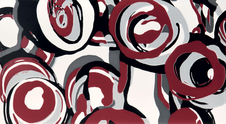Tubadzin CARMINE Hoop Carmine dekor 59,3×32,7