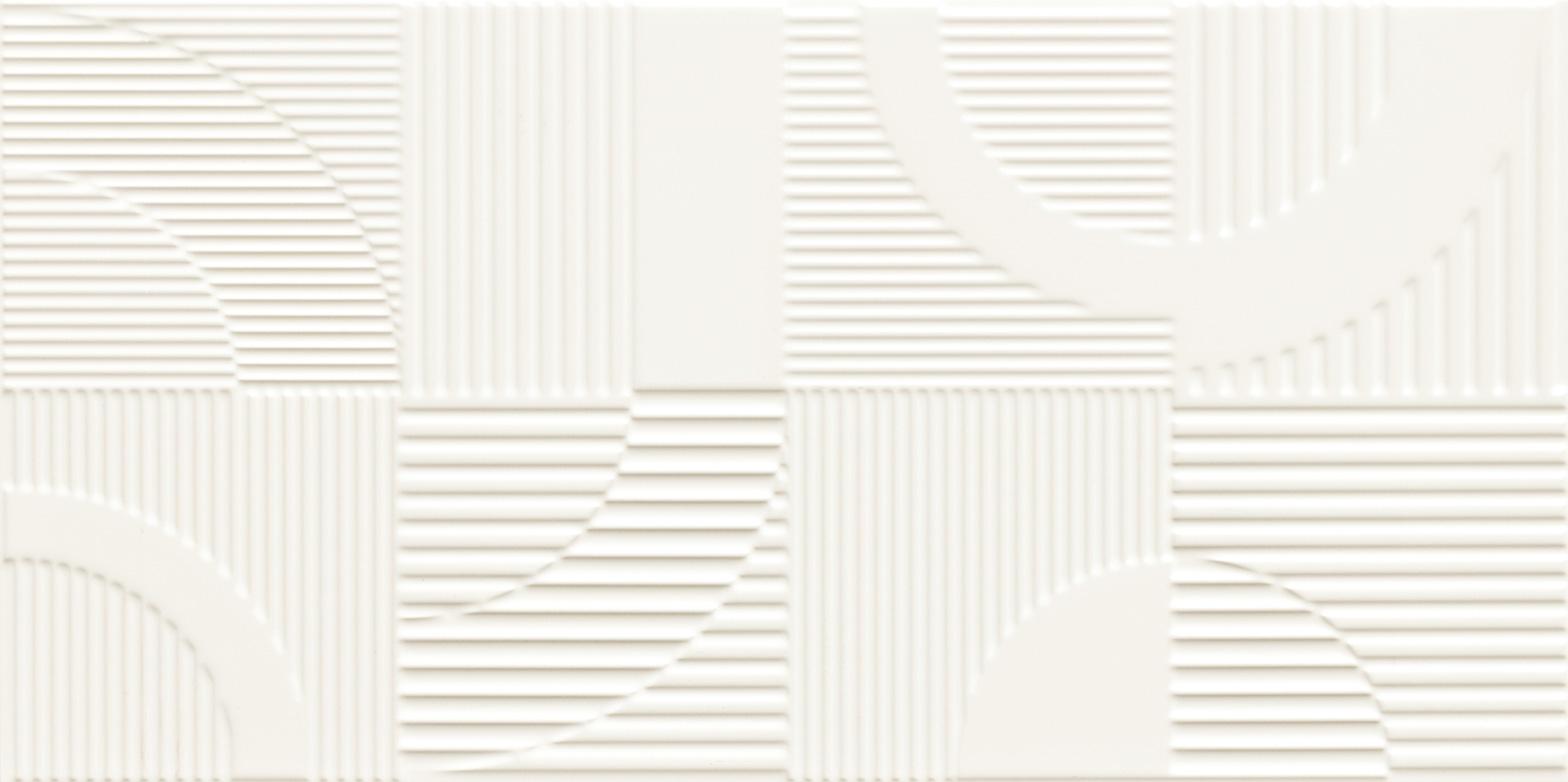 Travertino COOL Round White STR dekor 59,8×29,8