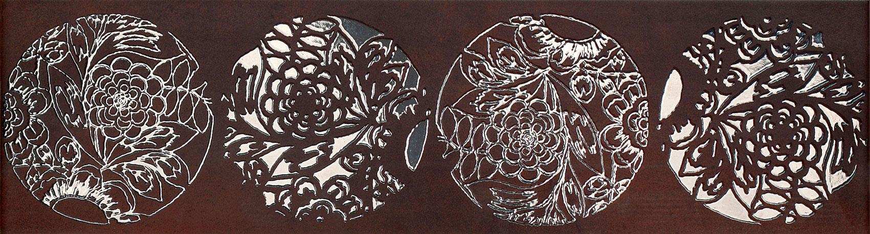 Tubadzin FLORAL STONE 3 szegő 60×16,2