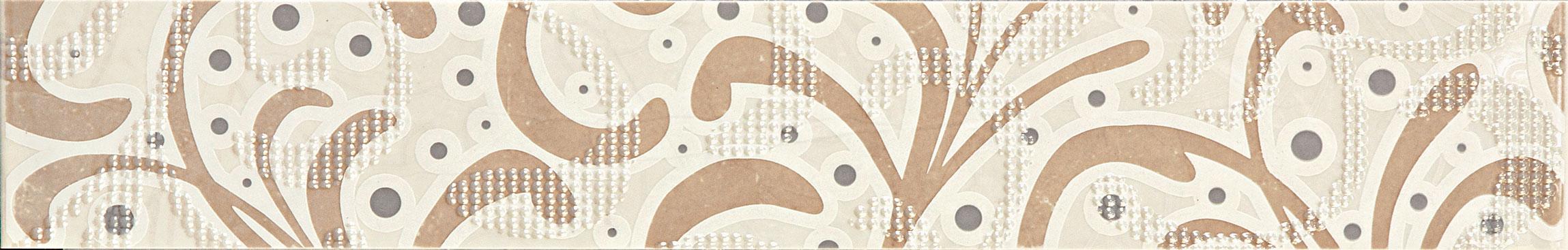 Tubadzin GOBIOrnament Beige szegő 60,8×9,8