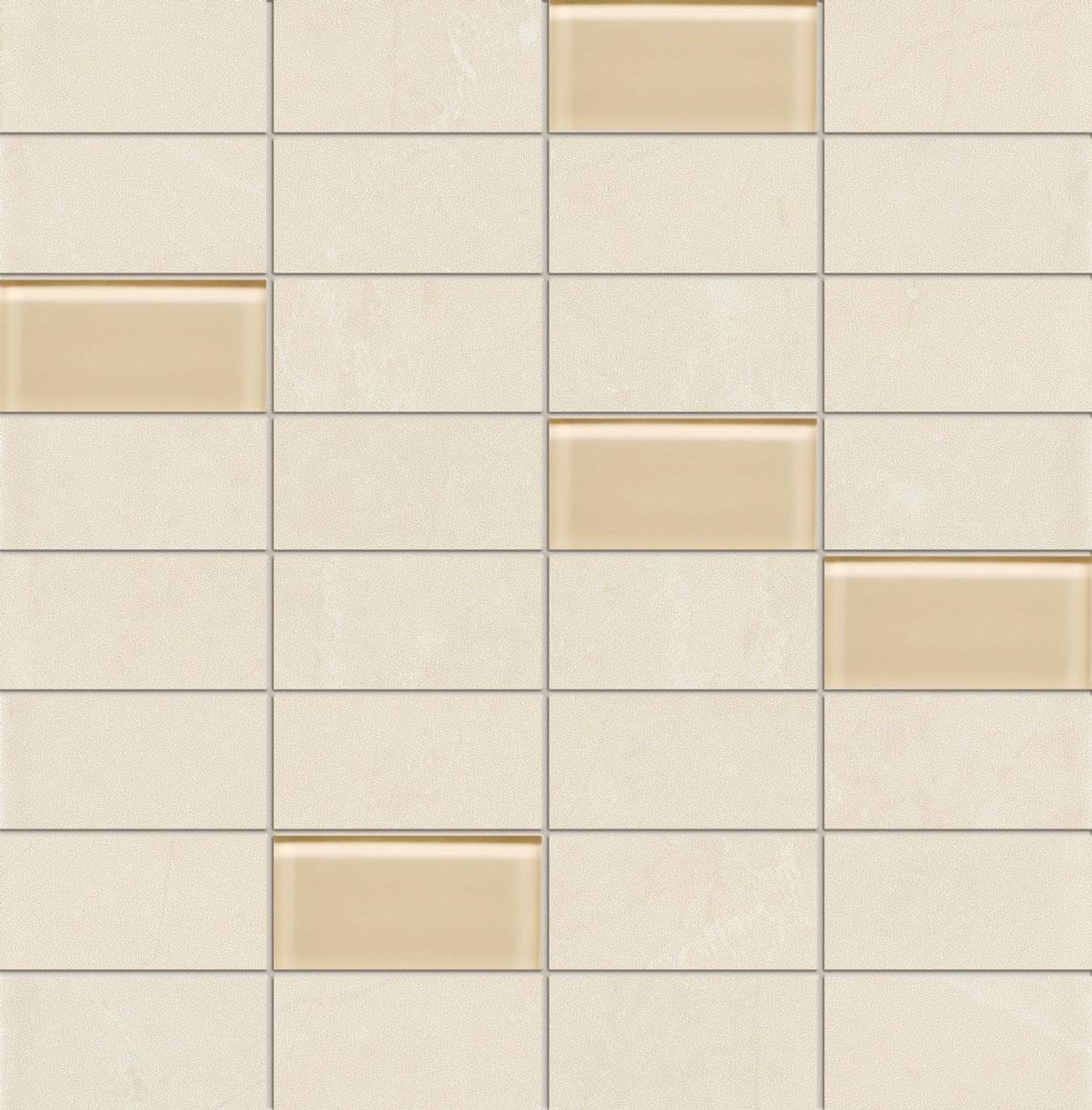 Tubadzin GOBI White mozaik 30,3×30,8