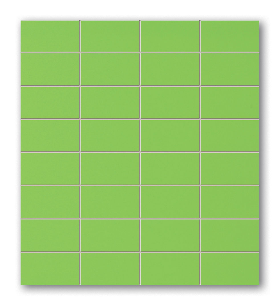 Tubadzin GREEN négyszögletű mozaik 29,5×32,7