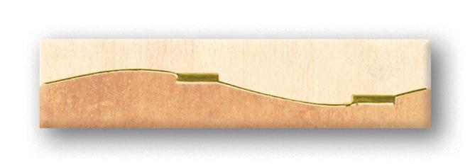 Tubadzin KUBA Valadero 3 szegő 25×5,7