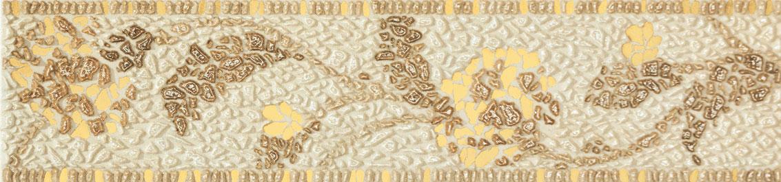 Tubadzin LAVISH Beige szegő 44,8×10,5