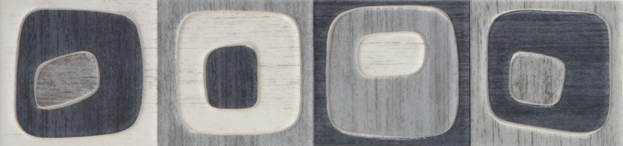 Tubadzin MODERN SQUARE 1 szegő 44,8×10,5
