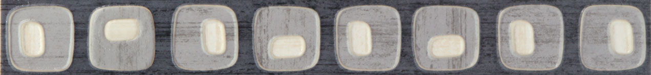 Tubadzin MODERN SQUARE 2 szegő 44,8×5,2