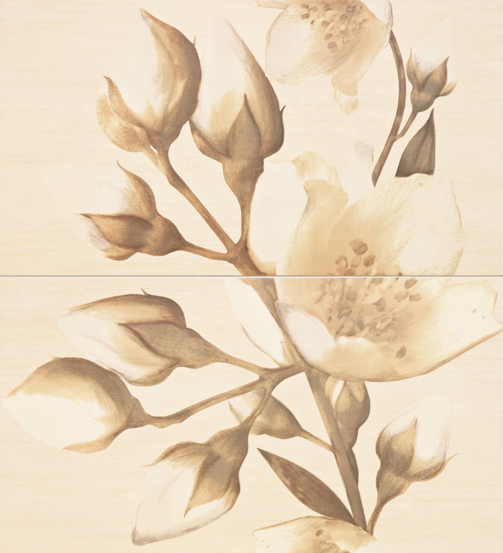 Tubadzin MORINGA 3 dekor 65,6×59,3