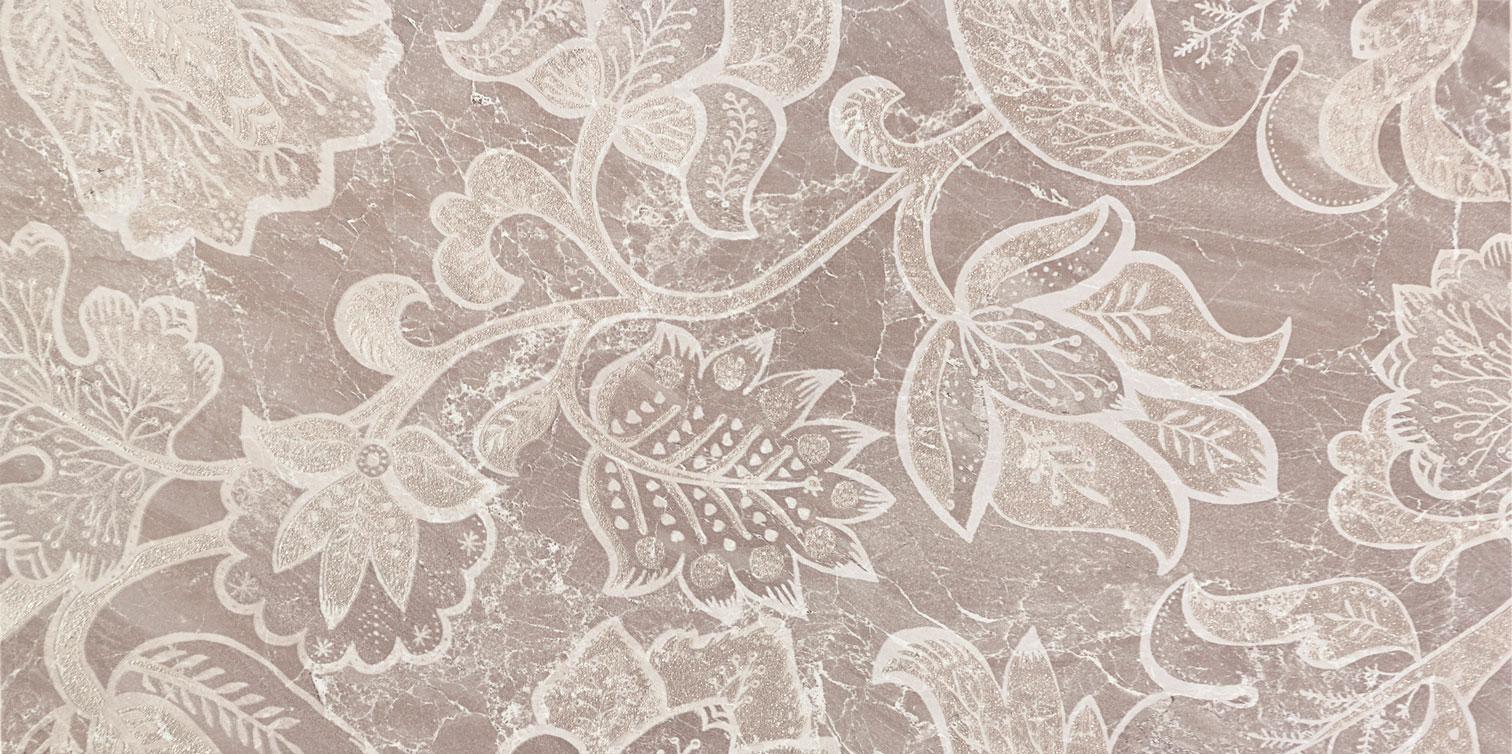 Tubadzin OBSYDIAN Grey dekor 59,8×29,8