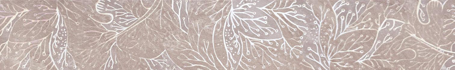 Tubadzin OBSYDIAN Grey szegő 59,8×9,8