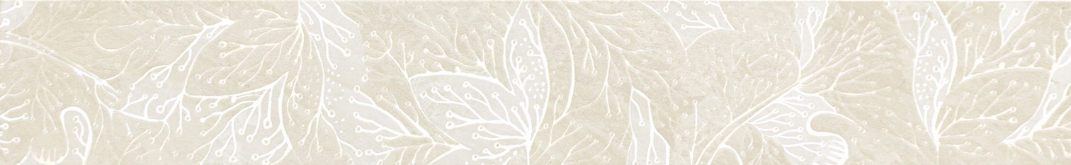 Tubadzin OBSYDIAN White szegő 59,8×9,8