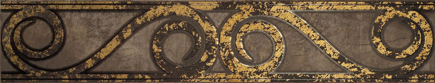 Tubadzin PALACIO Oroment szegő 59,8×11,5