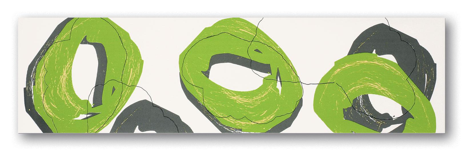Tubadzin POP Green szegő 59,3×16,2