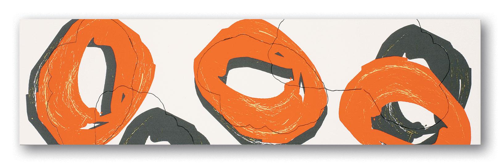 Tubadzin POP Orange szegő 59,3×16,2