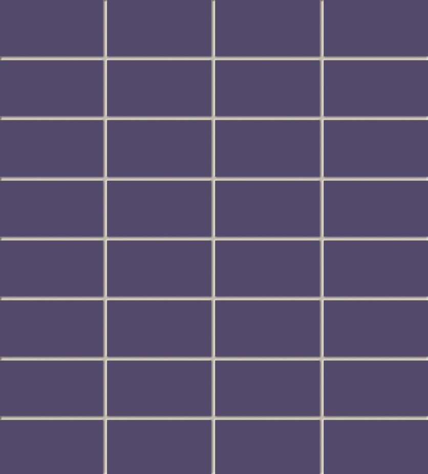 Tubadzin VIOLET négyszögletű mozaik 29,5×32,7