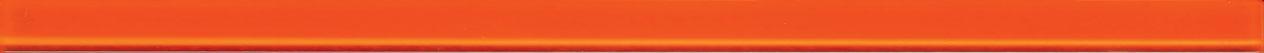 Tubadzin GLASS Orange 4 szegő 44,8×2,5