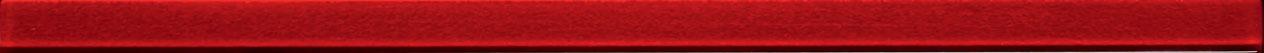 Tubadzin GLASS Red 4 szegő 44,8×2,5
