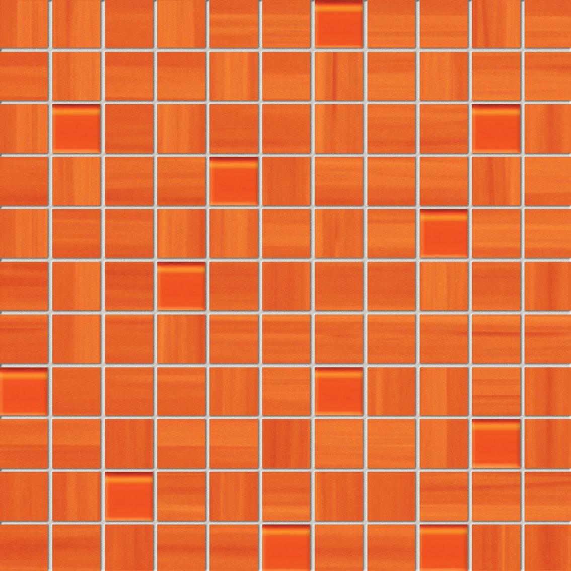 Tubadzin WAVE Orange mozaik 30×30
