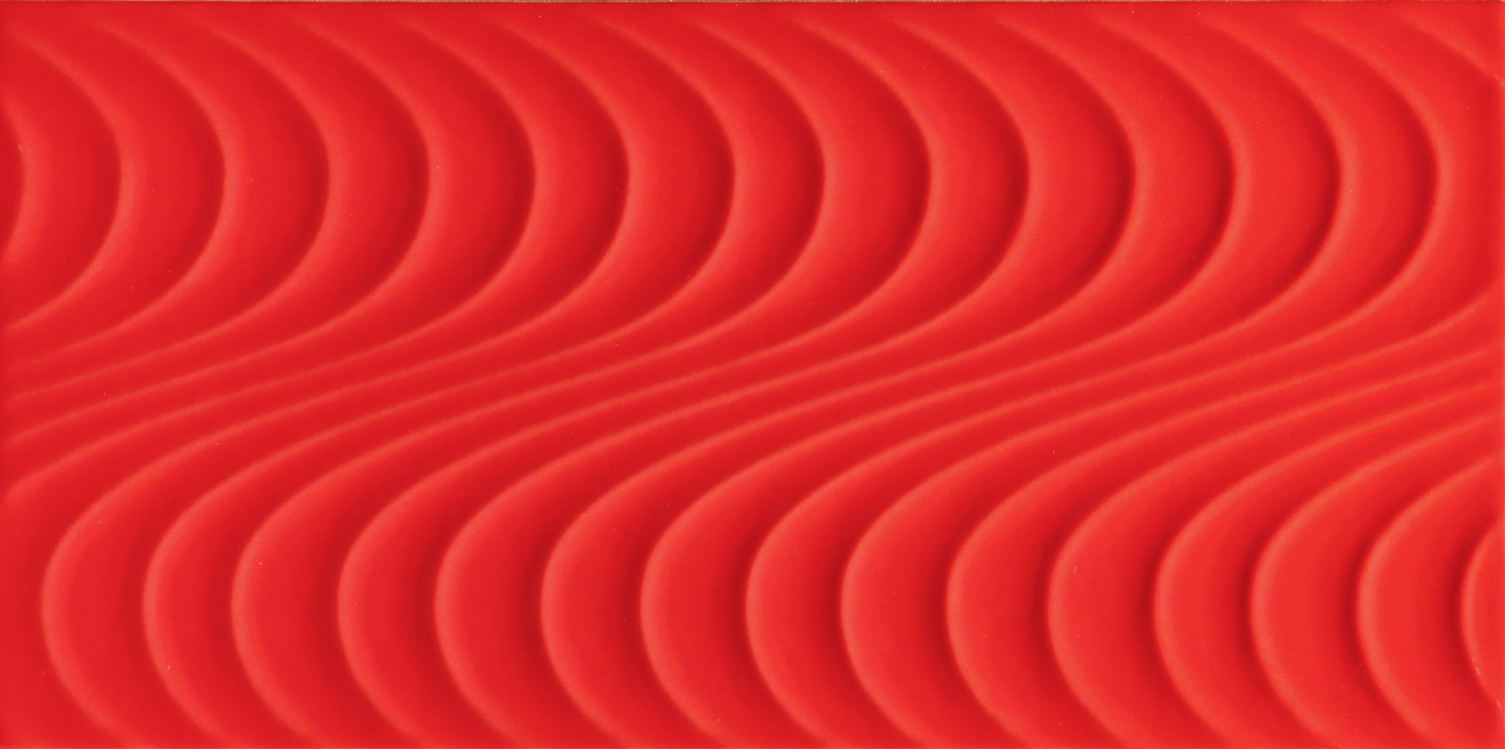 Tubadzin WAVE Red A 44,8×22,3