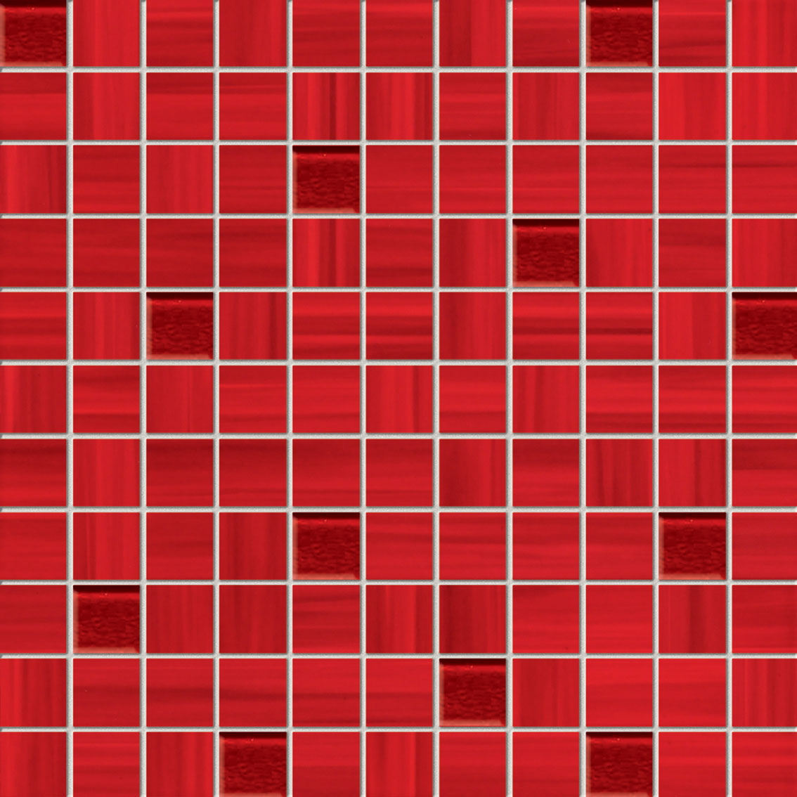 Tubadzin WAVE Red mozaik 30×30