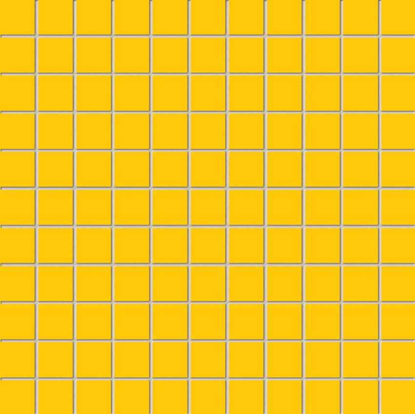 Tubadzin YELLOW Yellow mozaik 30×30